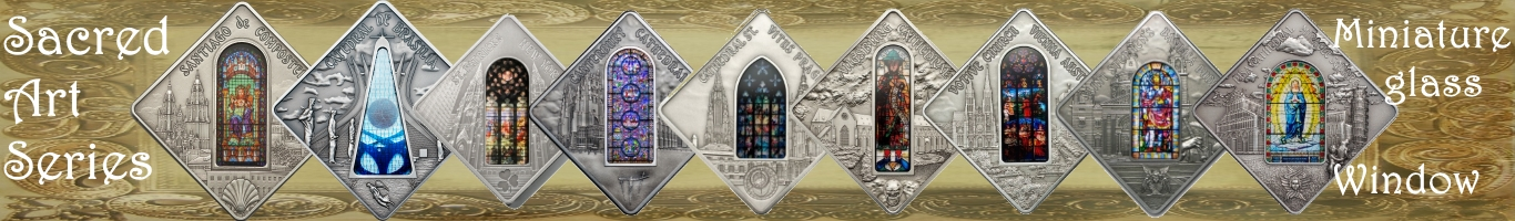 Cathedral - Sacred Art Silver Coin