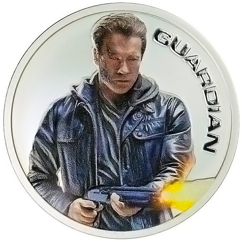Terminator Genisys Guardian 1 Oz. Silver Proof