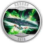 STAR TREK™ - THE NEXT GENERATION - PURE SILVER COLOURED COIN 2018